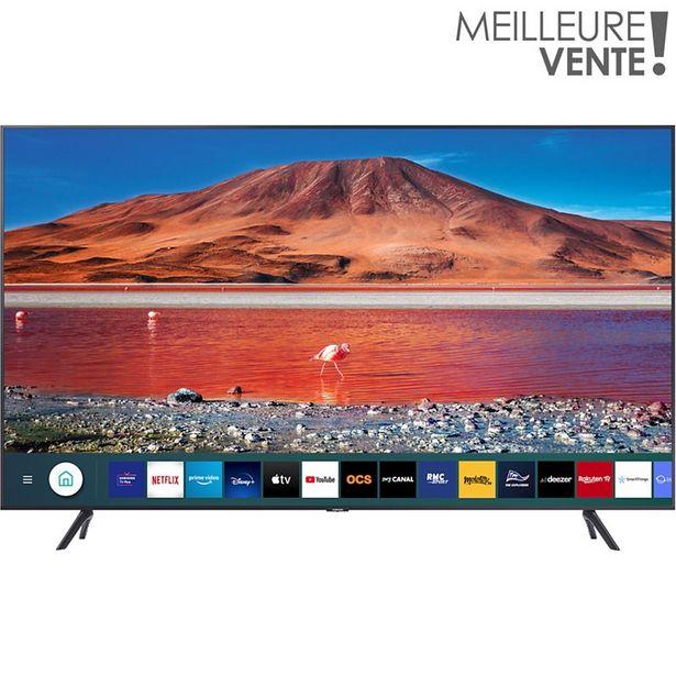 TV LED Samsung UE55TU7125 2020 offre à 499€