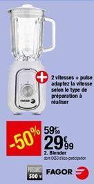 Blender Fagor offre à 29,99€