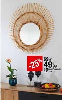 Miroir Peacock offre à 49,99€