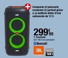 Enceinte JBL offre à 299,99€