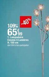 Lampadaire Cosmic 5 Lumiéres offre à 65,99€
