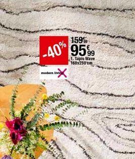 Tapis Wave offre à 95,99€