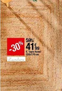 Tapis Hanoi offre à 41,99€