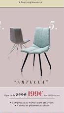 Chaise ARTELLA offre à 1,99€