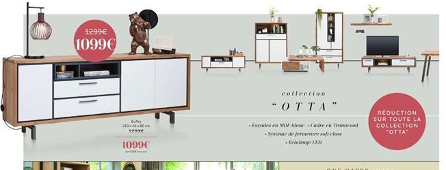Buffet collection OTTA  offre à 1099€