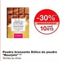 """Poudre bronzante délice de poudre """"Bourjois"""" offre à 10,15€"""