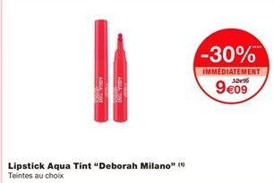 """Lipstick aqua tint """"Deborah milano"""" offre à 9,09€"""