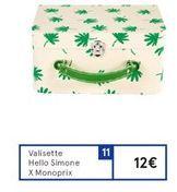 Valisette hello simone x Monoprix offre à 12€