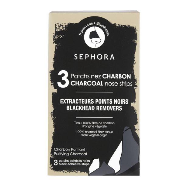 Kit 3 patchs nez charbon - extracteurs points noirs offre à 4,99€