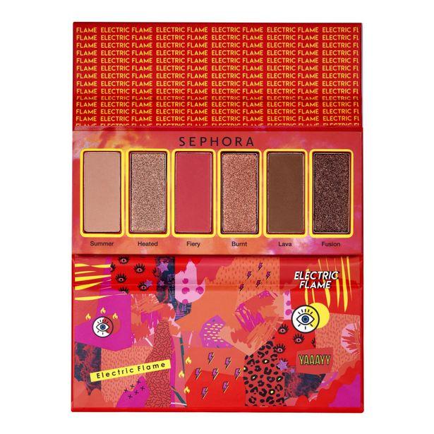 Electric palette - palette de 6 fards à paupières offre à 9,99€