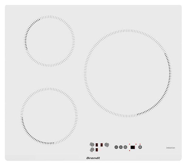 Table induction BRANDT BPI 6315 W offre à 298,93€