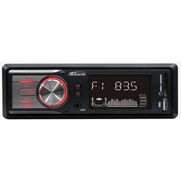 Autoradio TAKARA RDU1705 SD/USB/AUX offre à 16,9€