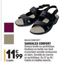 Sandales confort offre à 11,99€