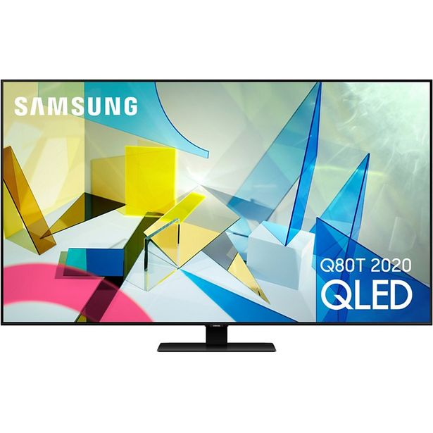 TV QLED Samsung QE85Q80T 2020 offre à 3490€