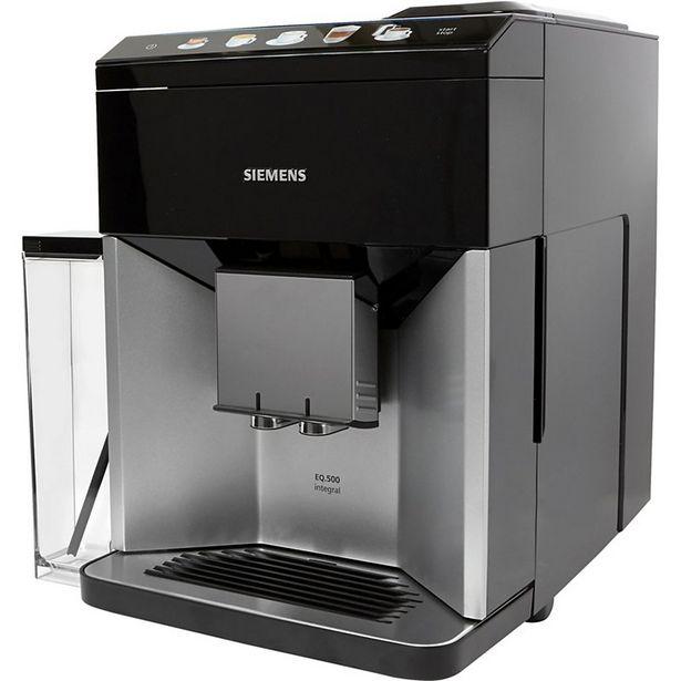Expresso Broyeur Siemens EQ.500 S300 Integral TQ503R01 offre à 899,9€