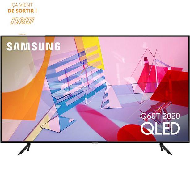 TV QLED Samsung QE58Q60T 2020 offre à 899€