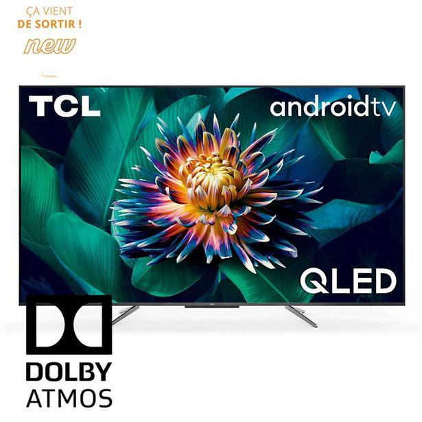 TV QLED TCL 55C715 Android TV offre à 599€