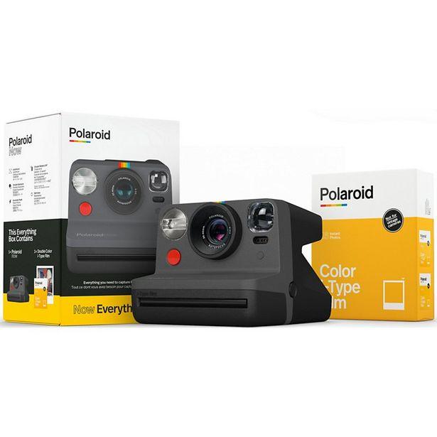 Appareil photo Instantané Polaroid Now - Black +16 films iType Color offre à 139€