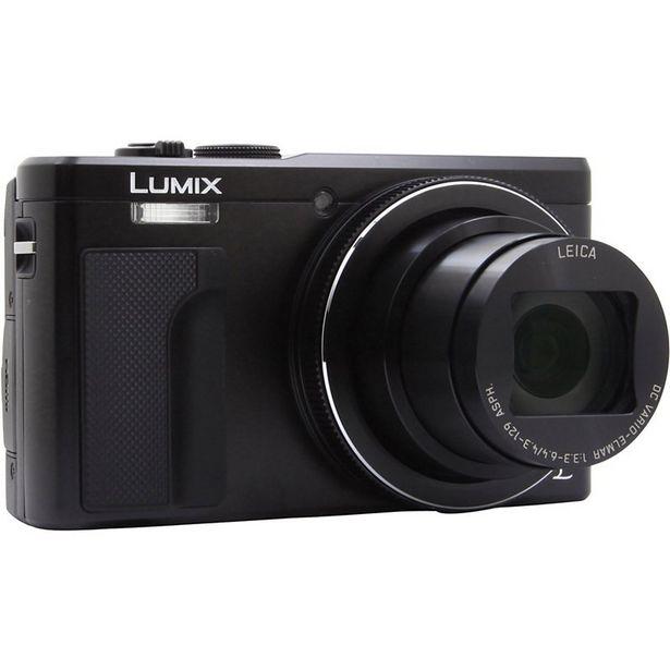 Appareil photo Compact Panasonic DMC-TZ80 Noir + Sacoche + SD 8Go offre à 299€