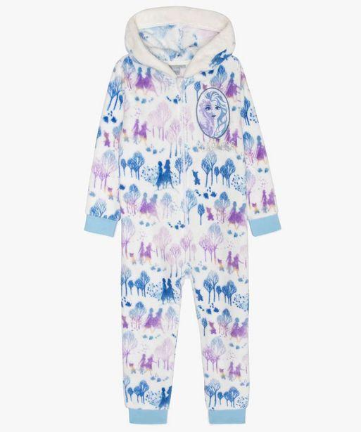 Pyjama fille combinaison polaire - Frozen 2 offre à 19,99€