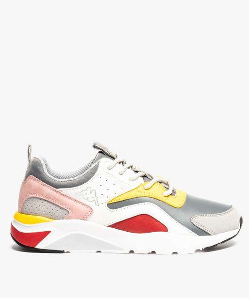 Baskets femme Dad shoes* multicolores - KAPPA offre à 27,49€
