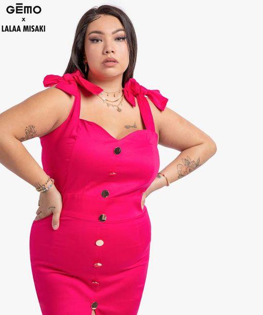 Robe femme « Bodycon » - Gémo x Lalaa Misaki offre à 17,49€