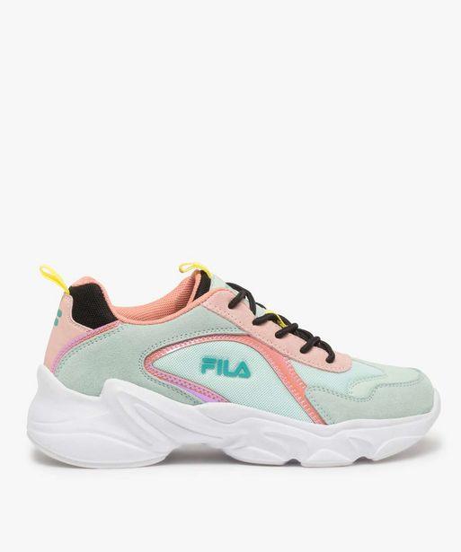 Baskets femme à semelle épaisse look dad shoes - FILA offre à 41,99€
