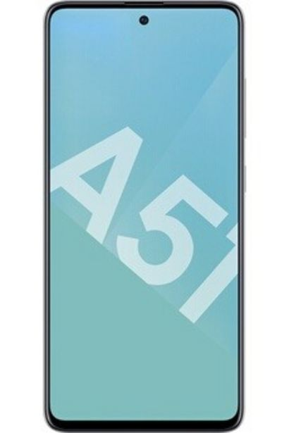Smartphone Galaxy A51 Blanc 128Go Samsung offre à 329€