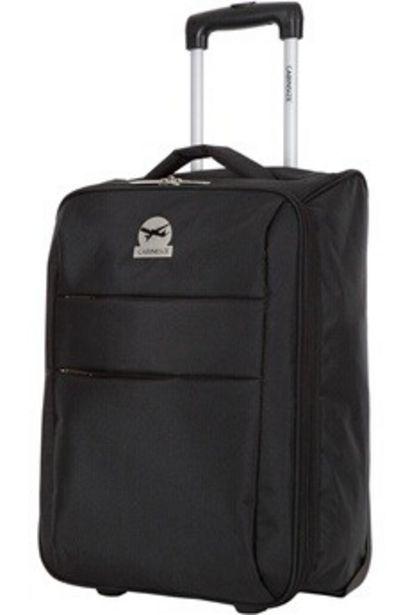 Valise Valise cabine souple pliable NOIRE Cabine Size offre à 24,99€