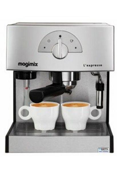 Expresso 11411 CHROME MAT Magimix offre à 149€