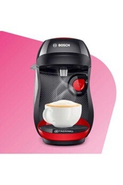 Cafetière à dosette ou capsule TAS1003 ROUGE Bosch offre à 34,99€
