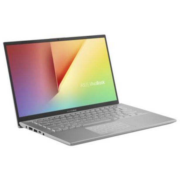 VivoBook S14 - S412FJ-EB319T - Argent translucide offre à 649,99€