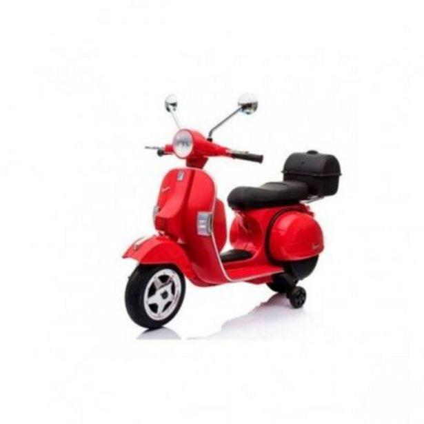 Moto Vespa officiel 12v électrique pour enfants licence ... offre à 109,99€