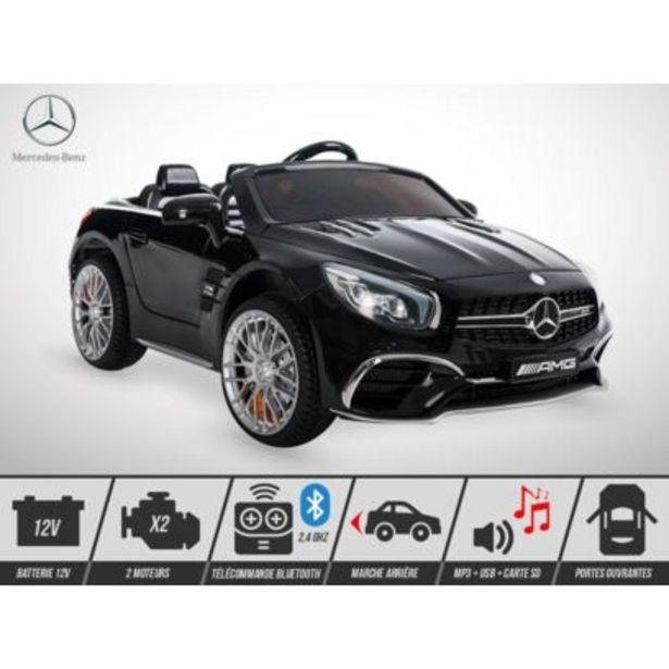 Voiture électrique enfant - Mercedes Sl 65 Amg 70W - Noir offre à 249€