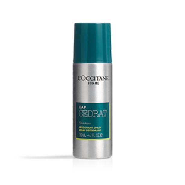 Déodorant Spray Cap Cédrat offre à 19€