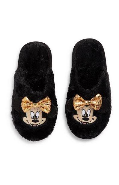 Mules noires Minnie Mouse ado offre à 7€