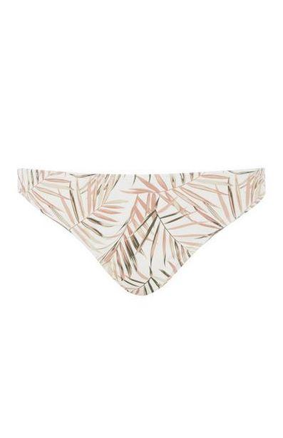 Bas de bikini motifs feuilles offre à 5€
