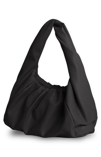 Sac porté épaule noir oversize offre à 12€
