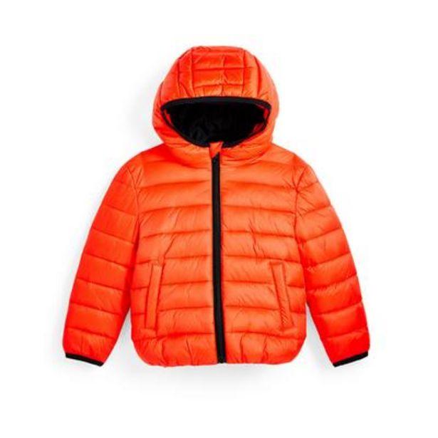 Doudoune orange garçon offre à 12€