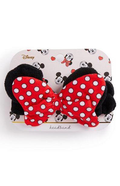 Bandeau rouge à nœud Minnie Mouse offre à 3€