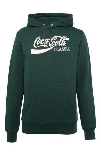 Sweat à capuche vert Coca-Cola offre à 14€