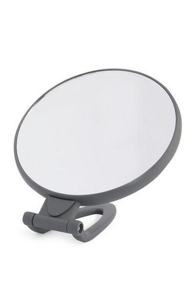 Miroir sur pied gris PS offre à 3€