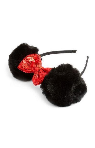 Bandeau à pompons Minnie Mouse offre à 3€