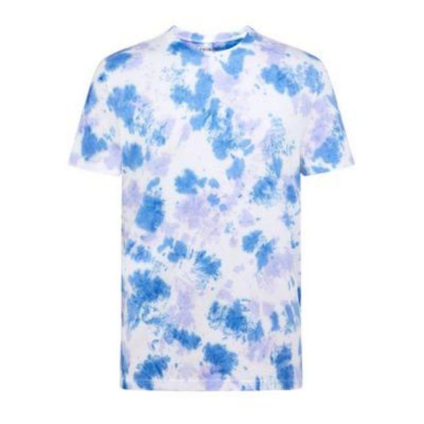 T-shirt bleu tie and dye offre à 8€