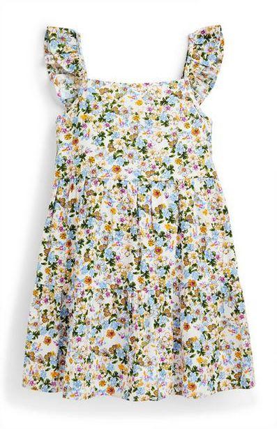 Robe à imprimé floral et superpositions fille offre à 5€