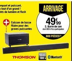 Barre de son Thomson SB50BT offre à 49,99€