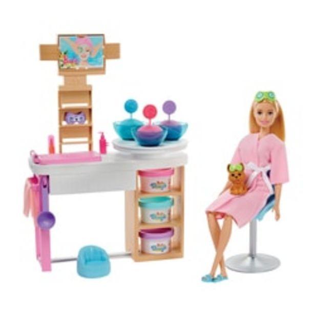 Poupée Barbie une journée au SPA offre à 39,99€