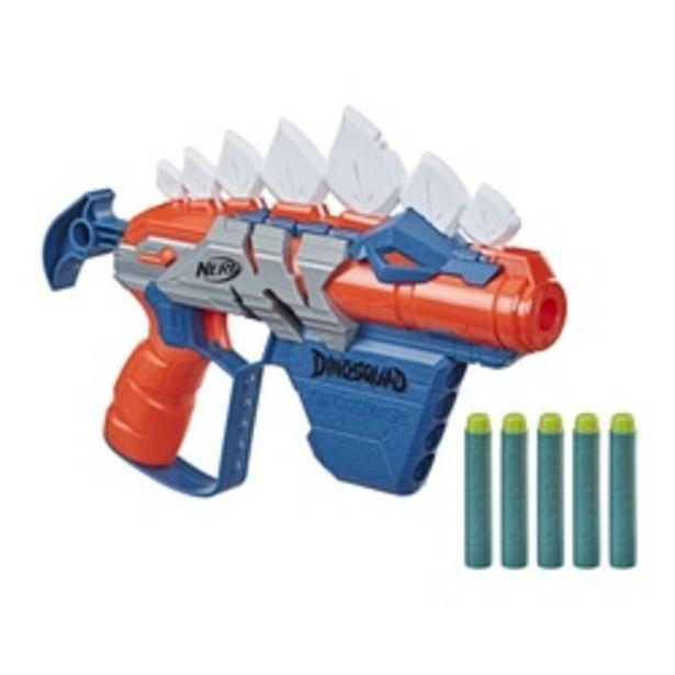 Pistolet Nerf DinoSquad Stego-Smash offre à 12,99€