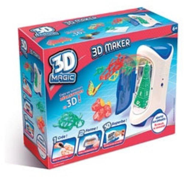 Imprimante Magic 3D Maker offre à 8,99€