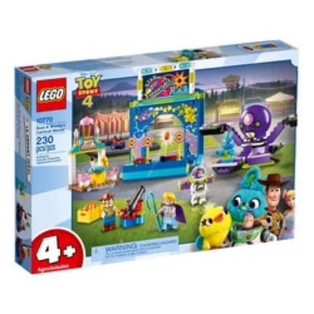 10770-LEGO® Toy Story 4 Le carnaval en folie de Buzz et Woody offre à 39,89€